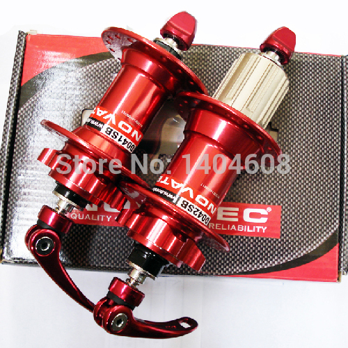 Brand new High Quality Original Novatec D041SB D042SB disc card brake MTB mountain bike hub bearing bicycle hubs32 Holes 32h original novatec d881sb d882sb mtb downhill mountain bike hubs 4in1 15 12 142 thru 32 holes disc brake bicycle hub for am fr dh