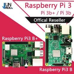 Оригинальный Element14 raspberry pi 3 Model B/B + плюс BCM2837 1,2 г raspberry pi 3 с 2,4 и 5 Wi Fi 4,2 Bluetooth PoE