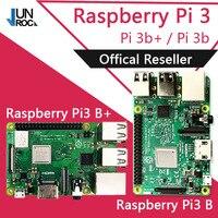 Original Element14 Raspberry Pi 3 modèle B/B + Plus BCM2837 1.2G raspberry pi 3 avec 2.4G & 5G WIFI 4.2 Bluetooth et PoE