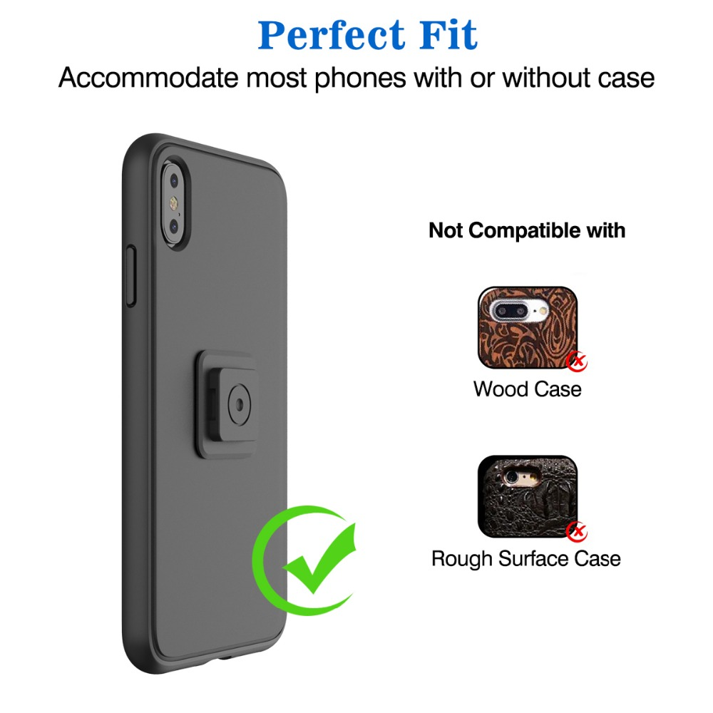 Universal Quick Mount Adapter Multi Purpose Phone Holder For Air vent Car Bike Belt Clip Wall Armband Wristband Mount in Phone Holders Stands from Cellphones Telecommunications