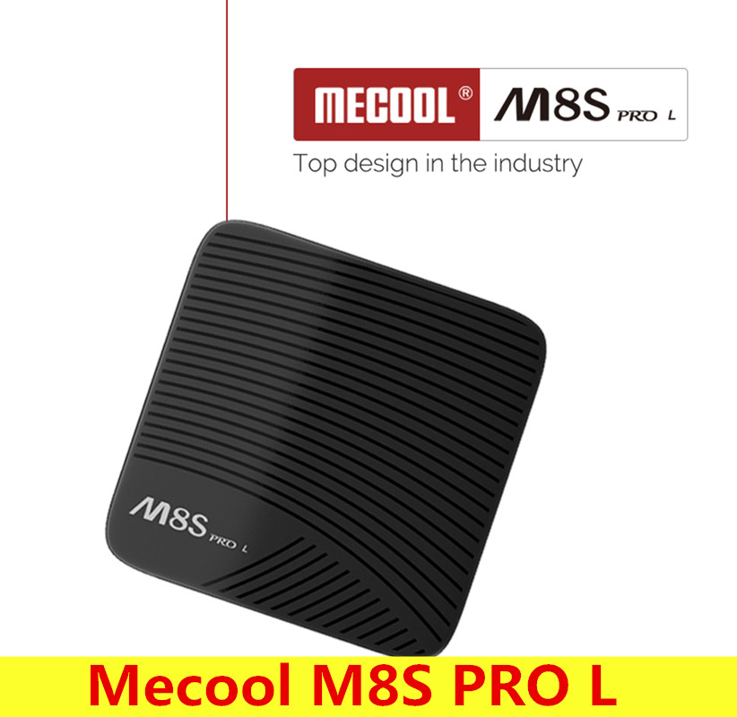 Mecool M8S PRO L Android 7.1 Smart TV Box Amlogic S912 Cortex-A53 CPU Set Top Box Bluetooth 4.1 Support 4K Media Player 100M tv box android m 6