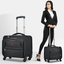 Trolley-Bag Suitcase Casters Trunk Carry-On-Wheels Business 18inch New Oxford Multifunction
