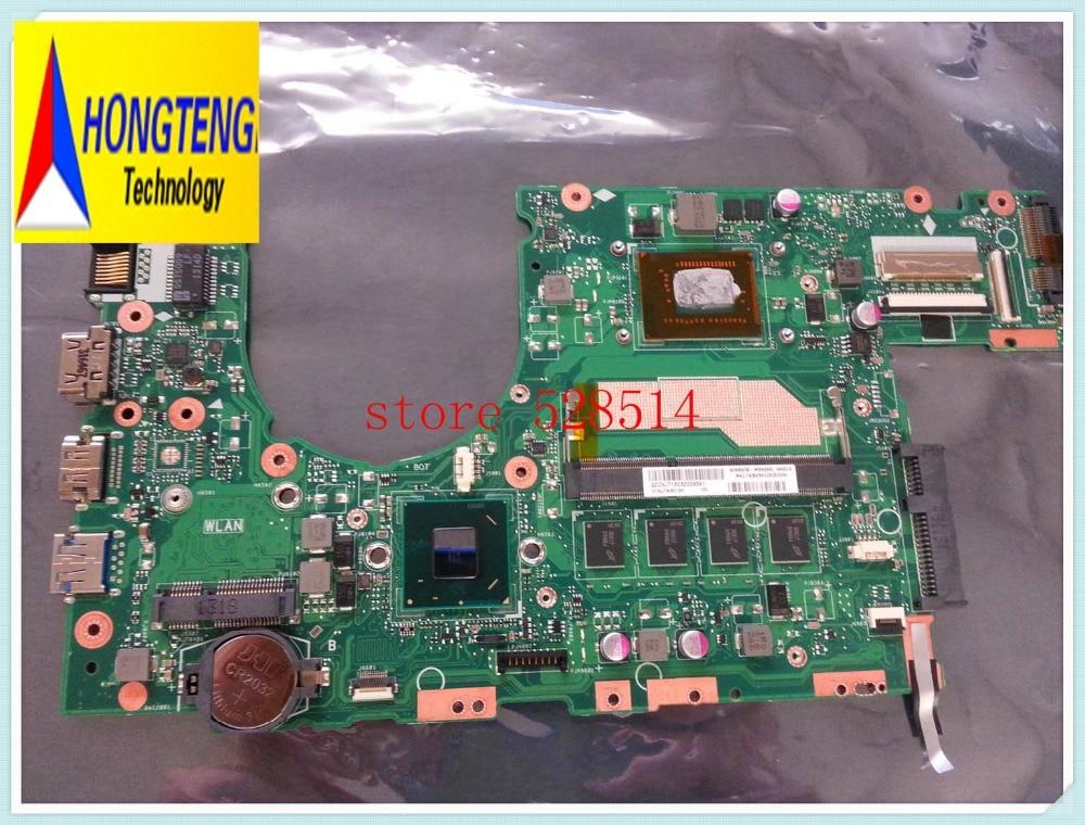 original FOR ASUS S400CA MOTHERBOARD LOGIC BOARD 60NB0050-MBN 31XJ7MB0180  Work Perfect