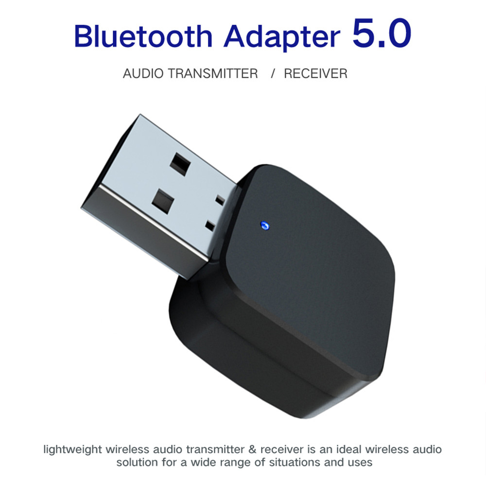 3.5mm AUX Bluetooth 5.0 Audio Car Kit Wireless Music Receiver Transmitter Adapter USB 3.5mm Jack For TV Car Radio Speaker