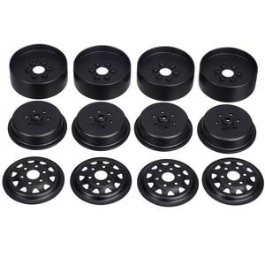 Image 4 - 4Pcs/set 1.9inch Alloy Metal Wheel Rims Wheel Hub Rim Set For SCX10 D90 90046 1/10 RC Crawler Car