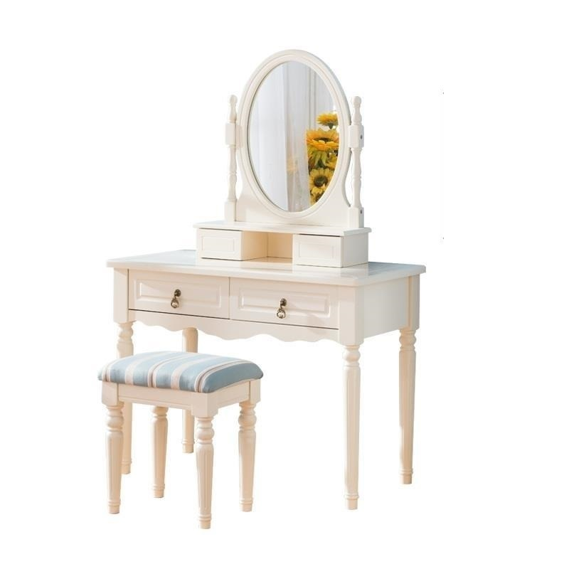 Dresuar Maquiagem De Maquillaje Makeup Vanity Table Mesa European Wood Korean Quarto Penteadeira Bedroom Furniture Dresser dressing table makeup desk dresser 1 mirror 4 drawers european bedroom furniture make up mesa bedroom penteadeira with stool