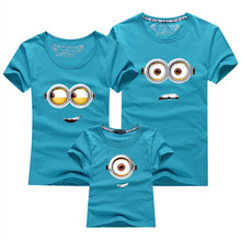 1 Piece Family Look T-shirt 13 Colors Clothes For 2017 Summer matching family clothes mother father daughter son Top Clothing