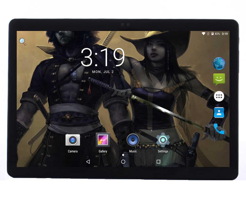 """Android 7,0 cubierta de Metal 4G LTE Tablet pc 10 pulgadas 1920*1200 IPS pantalla 10 Core 4 GB RAM 64 GB ROM GPS Wifi tabletas de 10 """"Chico regalos"""