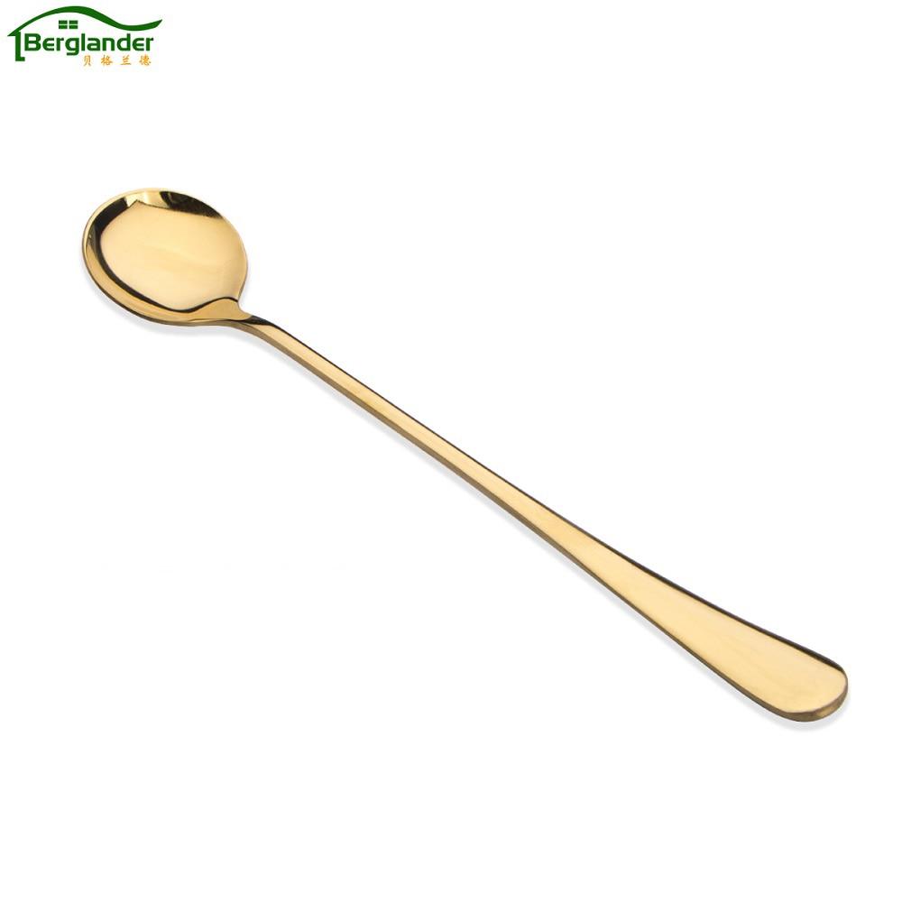 ᗖBerglander 6 unids/set alta calidad de oro de acero inoxidable ...