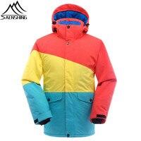 SAENSHING Snowboard Jacket Men Waterproof Ski Jacket Snow Wear Thicken Warm Outdoor Ski Winter Jackets Skiing And Snowboarding