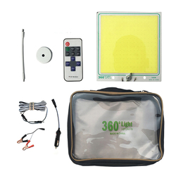 360 lekka 160W LED przenośna zewnętrzna lampa led camping akumulatorowa lampa LED zdalna do samodzielnego prowadzenia podróży podróż drogowa noc wędkarstwo