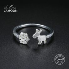 LAMOON Fawn & Snowflake 925-Sterling-(China)
