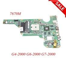 683030 001 683030 501 DA0R53MB6E0 DA0R53MB6E1 Laptop Moederbord Voor Hp G4 G6 G4 2000 G6 2000 G7 G7 2000 7670M werken