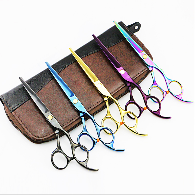 2 Scissors+1 Bag 5.5/6 Inch High Quality Professional Hairdressing Scissors Hair Cutting Barber Shears Sets Thinning Salon2 Scissors+1 Bag 5.5/6 Inch High Quality Professional Hairdressing Scissors Hair Cutting Barber Shears Sets Thinning Salon
