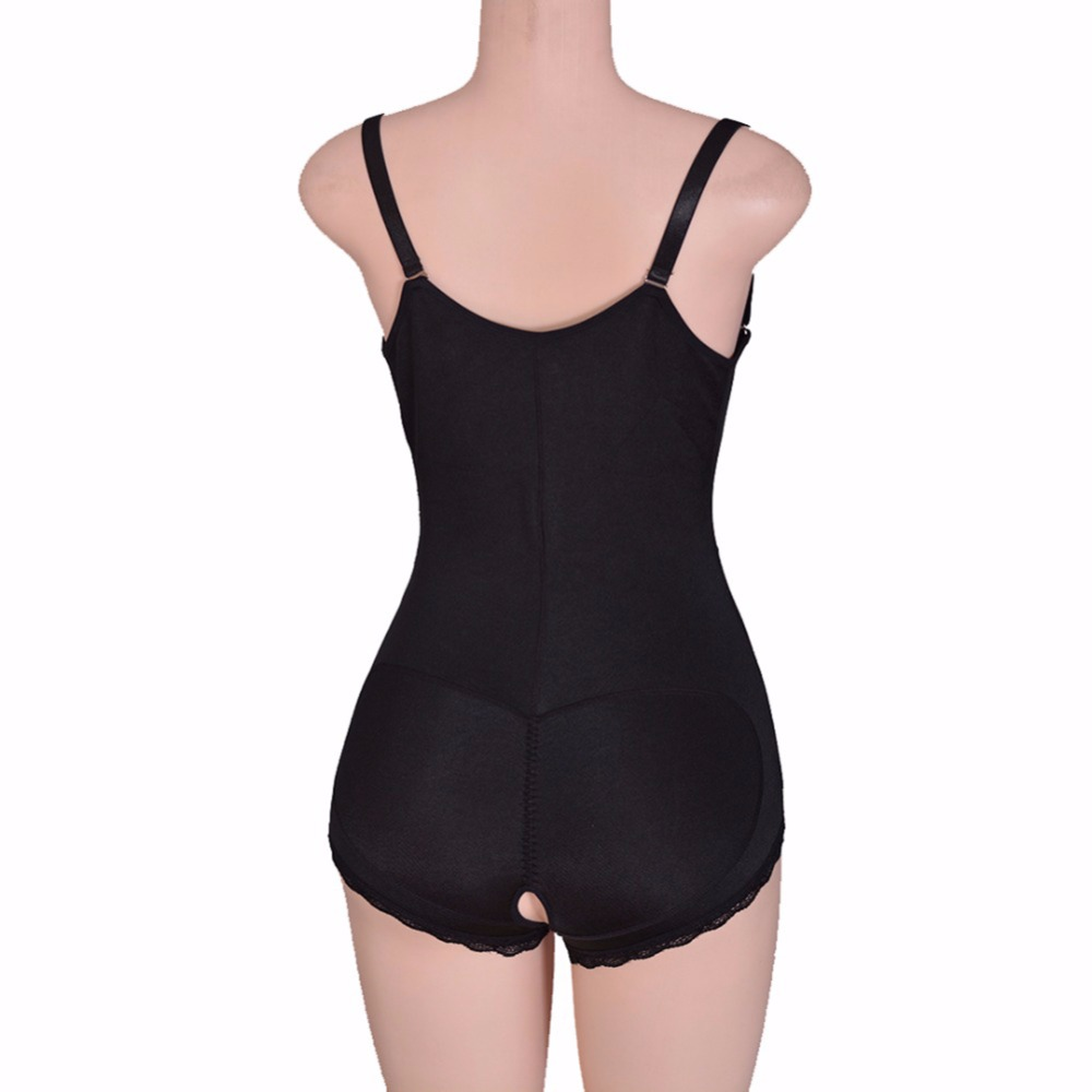 09f317d74fb30 2019 Women Best Shapewear Slip BuFirm Tummy Control Zip Front Open ...