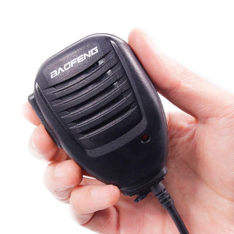 Baofeng De Poche Microphone Haut-Parleur MIC pour Baofeng UV-5R BF-888S UV-82 DM-5R Plus Two Way Radio Talkie Walkie