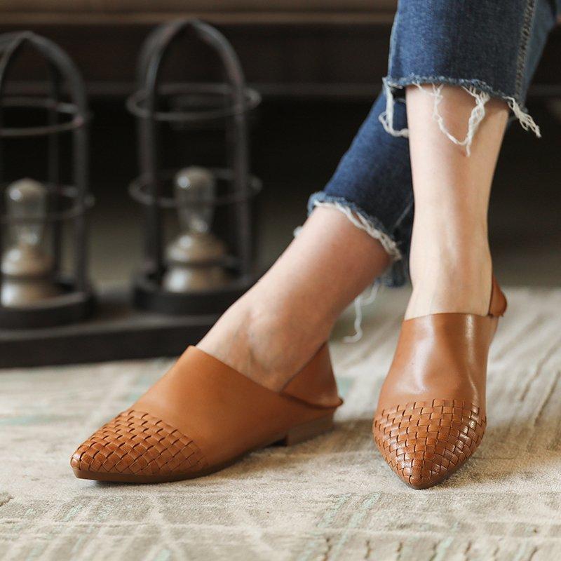 En Abricot Automne appricot Chaussures Ballerines 2018 Beige Semelle Slip Beige Pointu Casual Actmdall Cuir Printemps Femmes On Appartements Caoutchouc q5UI6