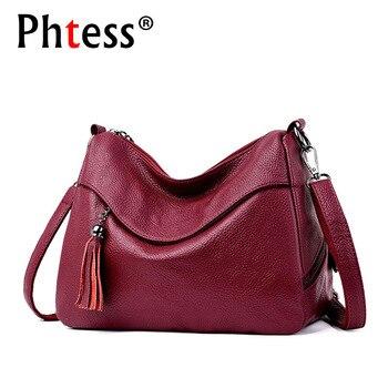3b1f68ad6a24 2019 роскошные сумки для женщин дизайнер мягкая кожа Сумка Женский Sac  основной Винтаж через плечо для Женская откидная сумка