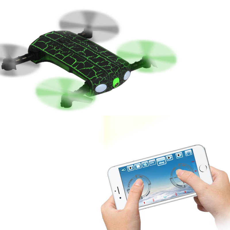 wifi fpv rc drone 1705w mini Rc Selfie Foldable 2.4G 4CH 6Axis remote control drone with camera Altitude Hold&Headless Mode gift yizhan i8h 4axis professiona rc drone wifi fpv hd camera video remote control toys quadcopter helicopter aircraft plane toy