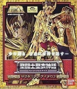 Anime Saint Seiya Original BANDAI Tamashii Nations Saint Cloth Myth 1.0 Soul of Gold Action Figure - Sagittarius Aiolos CLOTH in stock s temple metal club ex taurus aldebaran saint seiya myth cloth gold action figure