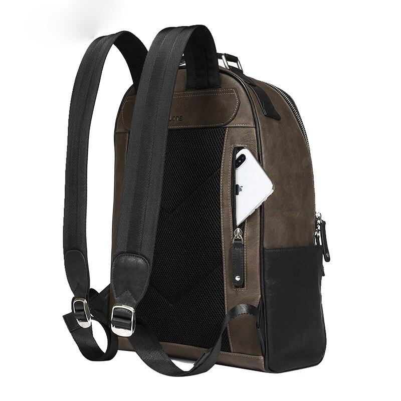 Nouveau sac à dos licorne sac à bandoulière en cuir pour hommes sac étudiant coréen sac à dos de loisirs - 2
