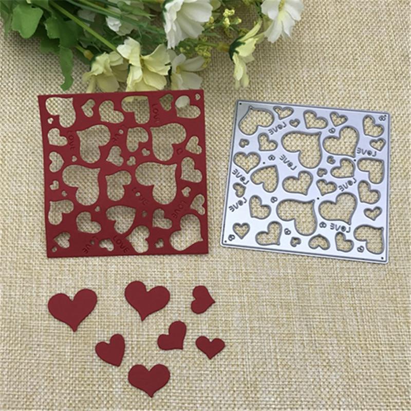 DIY Leaves Metal Cutting Dies Stencil Scrapbook Album Paper Card Embossing Decor