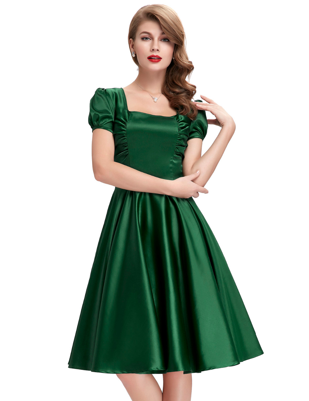 2016 Audrey Hepburn dresses Vestidos Plus Size Women ...