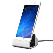 สายUSBข้อมูลโทรศัพท์Charger Dock Stand Stationชาร์จสำหรับiPhone X XS Max XR 6 6S 7 8 plus 5 SE Docking Desktop Cradle