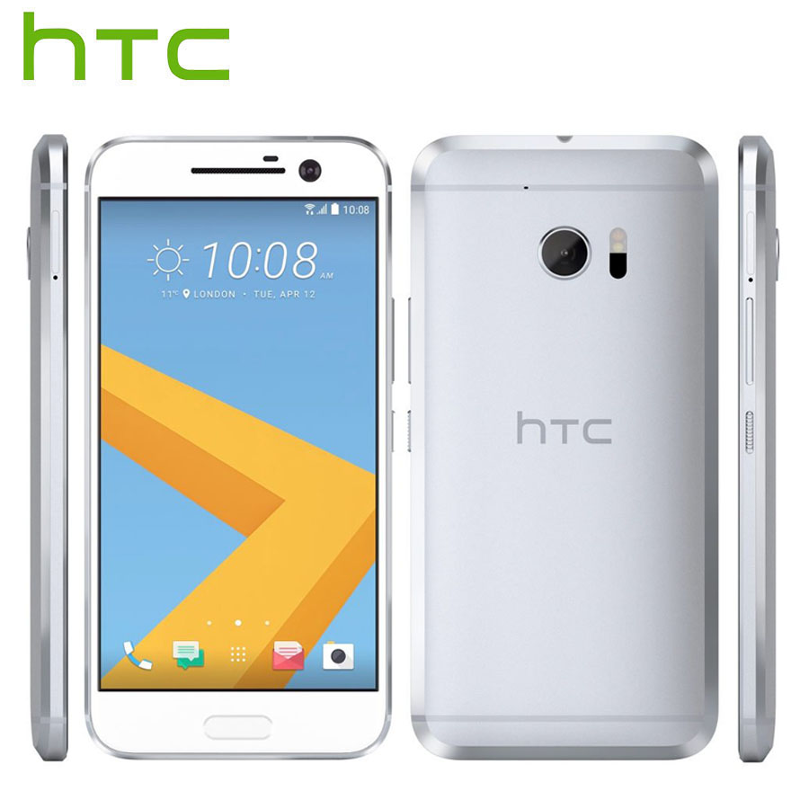 "EU Version HTC 10 M10 4G LTE Android Mobile Phone 4GB RAM 32GB ROM 12MP Camera Quad Core 5.2"" 1080P NFC Fingerprint 3000mAh New"