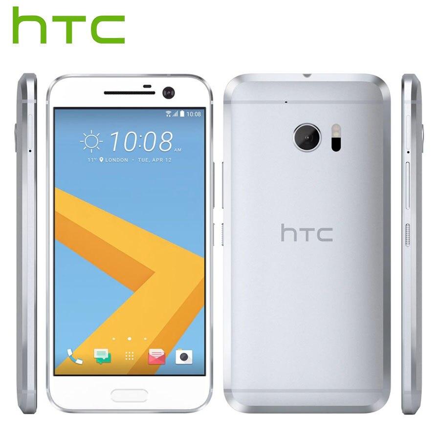 UE Versão HTC 10 M10 4G LTE Android Telefone Móvel 4 GB de RAM GB ROM 12MP 32 Câmera Quad núcleo 5.2