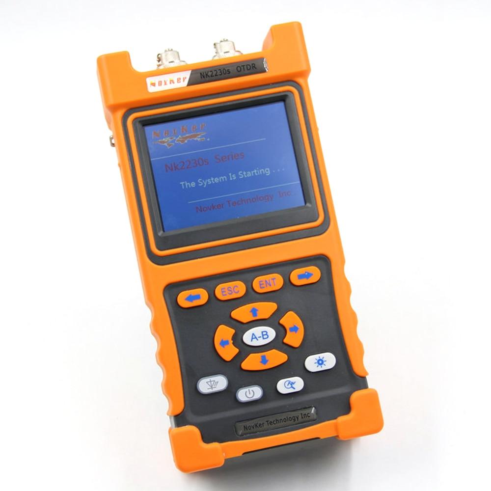 NK2230S SM OTDR 1310nm/1550nm 32dB/30dB 100km sigle-mode Optical Time Domain Reflectometer built in VFLNK2230S SM OTDR 1310nm/1550nm 32dB/30dB 100km sigle-mode Optical Time Domain Reflectometer built in VFL