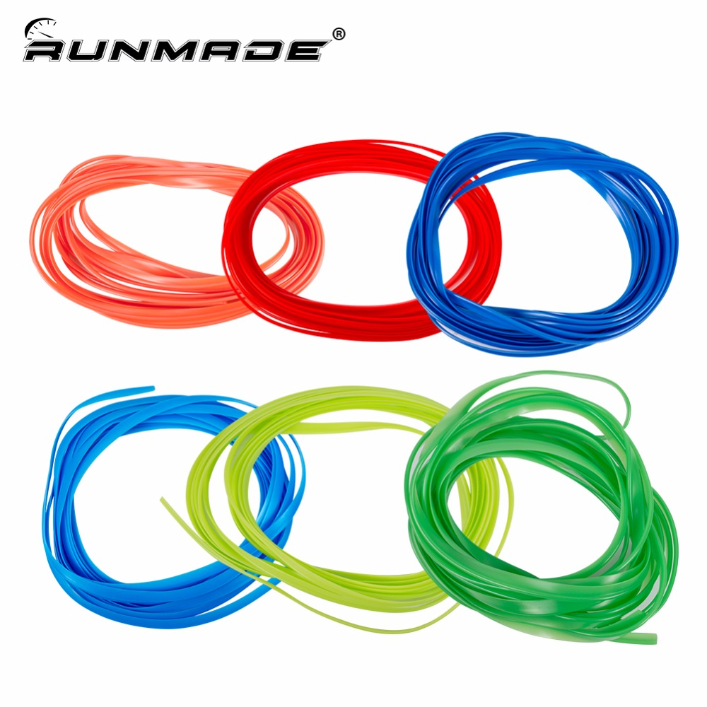 runmade 5M Car-Styling Decals Flexible Interior Decoration Mouldings Trims Strips For Auto Accessories On Car Styling