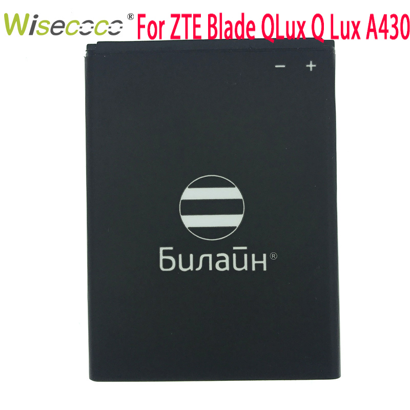 WISECOCO In Stock High Quality New 2019 PRO Battery For ZTE Blade QLux Q Lux A430 Beeline Pro Mobile Phone+Tracking Number
