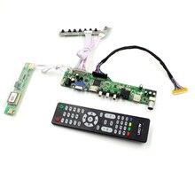 M6V5 placa controladora TV LCD suporte TV AV VGA USB Audio HDMI para 17 polegada painel 1440×900 lcd B170PW01 V0 N170C2-L01 LTN170BT08-G