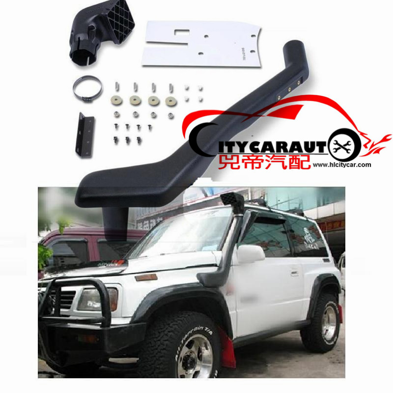 CITYCARAUTO LEFT SIDE GRAND VITARA AIR INTAKE SNORKEL KIT 1991-1999 OLD GRAND VITARA AIRFLOW SNORKEL CAR ACCESSROIES citycarauto 2007 2011 airflow snokel fit for jeep wrangler jk series 3 8l v6 air ram intake snorkel kit black