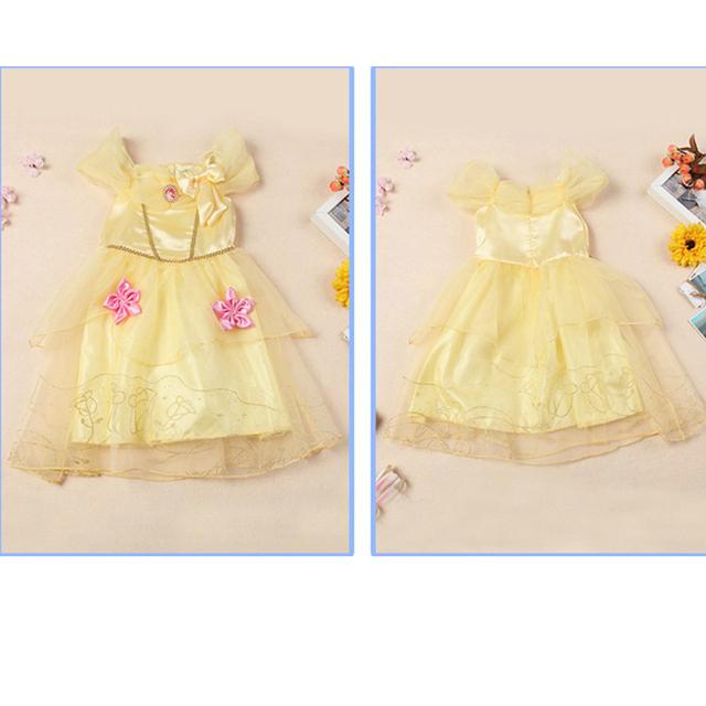 Halloween Princess Dress Belle Sleeping Beauty Aurora