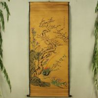 Exquisite Chinese Antique collection Imitation ancient Caragana Picture