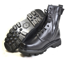2016 Gorące męskie Skórzane Buty Bojowe Wojskowe Buty taktyczne Zewnątrz Martin Boot Prawdziwej Skóry Połowy łydki botas militares X092104