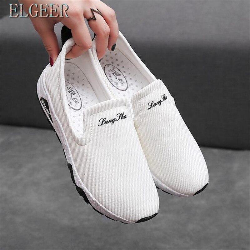Printemps 2018 01 Nouvelles Toile Vulcaniser Elgeer De 02 Femmes Pour 03 Chaussures Respirant Espadrilles Casual d5wE77pq