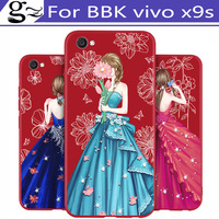 For BBK vivo x9s x 9 s x9 s Case Fashion Silicone Soft shell Cover Coque Fundas For BBK vivox9s vivox 9s case shell