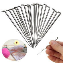 30 Pcs/Set Mixed Felting Needles Wool Felt Tools with Bottle S,M,L Each Size 10pcs DIY Sewing Package