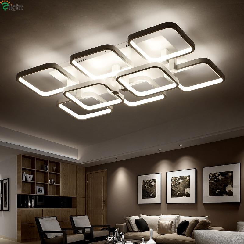 Moderne Lustre Acryl Slaapkamer Led Plafond Kroonluchters - Binnenverlichting