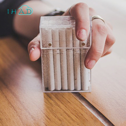 Stylish Cigarette box glitter & Transparent cigarette organizer Smoking Plastic card Box Portable Nightclub sigarets case gift