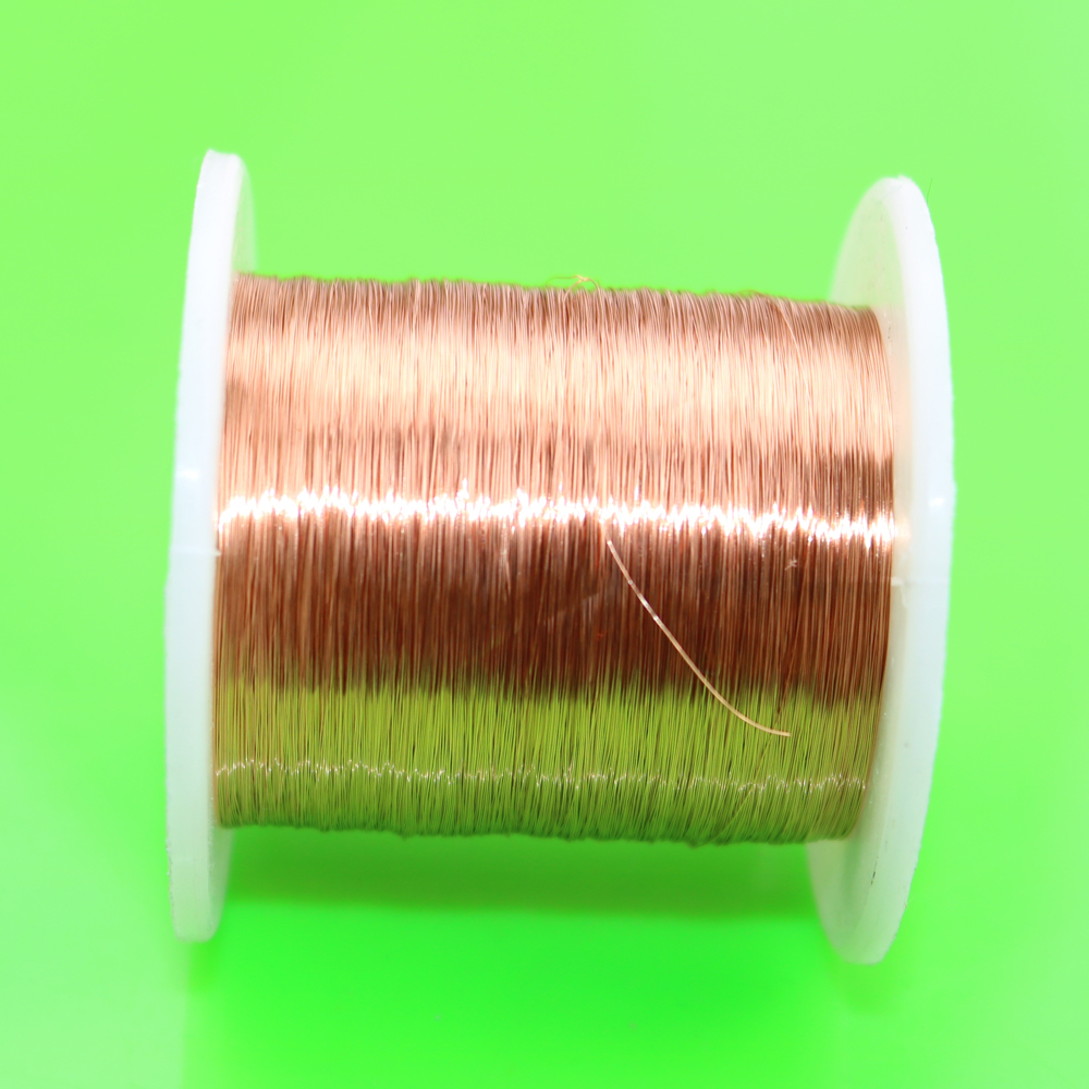 cltgxdd 0.1 mm to 2.6mm x 2kg / pc QZY-2/180 H grade high temperature resistance Polyurethane Enameled Wire Copper wire 100m high temperature polyester imide enameled copper wire 0 51mm qzy 2 180