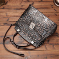 Women's Genuine Leather Handbag Vintage Fashion Messenger Cross body Bags