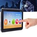 Mais novo 7 polegada de Navegação GPS Do Carro Android 4.4.2 MTK8127 WI-FI FM Bluetooth HD 1080 P Carro DVR Recorder 8G Flash com Tela Sensível Ao Toque