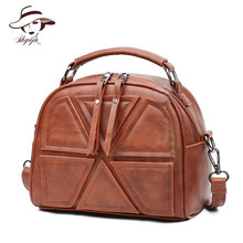 Vintage Patchwork New Small Shell Women Handbag Bear Pendant Hotsale Brand Messenger Bag Classical Ladies Crossbody Shoulder Bag