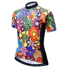 JESOCYCLING Cycling Jersey Women Cycling Shirt Top MTB Bicycle Clothing Bike Wear Clothes Short Sleeve Maillot Ropa Ciclismo