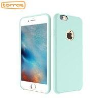 TORRAS Liquid Silicone Rubber Case For IPhone 6 6S Plus 7 7Plus Cute Soft Phone Cover