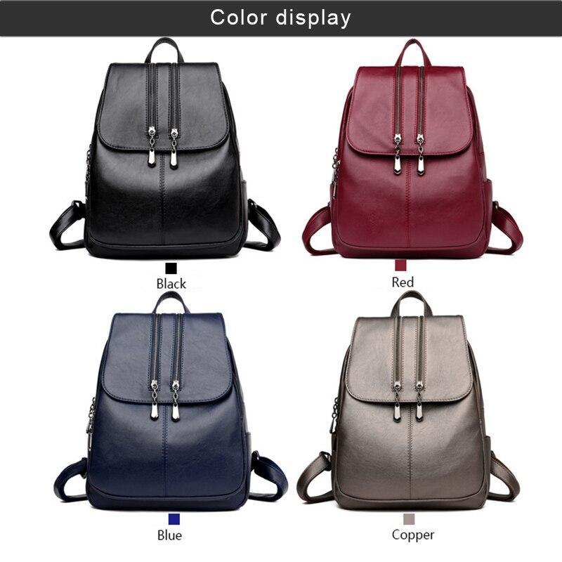 2018 New Multifunction Cool Laptop Backpack Women Leather Luxury Backpack Women Fashion Satchel School Bag PU LBY20182018 New Multifunction Cool Laptop Backpack Women Leather Luxury Backpack Women Fashion Satchel School Bag PU LBY2018